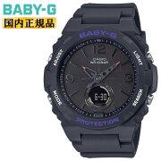 カシオベビーGブラックBGA-260-1AJFCASIOBABY-Gランタンモチーフデザイン針デジタル&アナログコンビネーションモデル黒レディスレディース腕時計