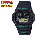 カシオ Gショック スローバック 1990s ブラック DW-5900TH-1JF CASIO G-SHOCK Throwback クリスマスカラー デジタル メンズ 腕時計