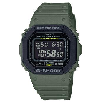 カシオGショックオリジンユーティリティカラーグリーン&ブラックDW-5610SU-3JFCASIOG-SHOCKORIGINUtilityColorデジタル反転液晶カーキ緑黒メンズ腕時計