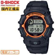 カシオGショック電波ソーラー限定ファイアー・パッケージ2020年モデルブラック&オレンジGW-2320SF-1B4JRCASIOG-SHOCKFirePackage'20デジタル黒メンズ腕時計