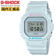 カシオGショックオリジンスプリングカラー・シリーズグレーDW-5600SC-4JFCASIOG-SHOCKORIGINSpringColorSeriesスクエアデジタル灰色ペールトーンメンズ腕時計