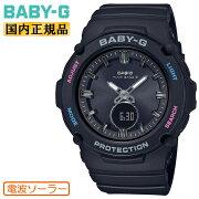 カシオベビーG電波ソーラーブラックBGA-2700-1AJFCASIOBABY-Gタフソーラー電波時計デジタル&アナログコンビネーション黒レディスレディース腕時計(BGA27001AJF)