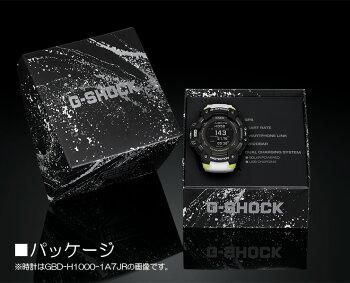 カシオGショックGスクワッド心拍計+GPS機能搭載グレーGBD-H1000-8JRCASIOG-SHOCKG-SQUADBluetooth搭載スマートフォンリンクデジタルMIP液晶灰色メンズ腕時計(GBDH10004JR)
