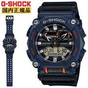 [発売日に発送できます!]カシオGショックネイビー&ブラックGA-900-2AJFCASOG-SHOCK工業デザインモチーフヘビーデューティーデジタル&アナログコンビネーション黒紺色メンズ腕時計(GA9002AJF)