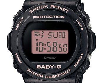 [発売日に出荷できます!]カシオベビーGブラック&ピンクBGD-570-1BJFCASIOBABY-Gデジタルラウンド黒レディスレディース腕時計(BGD5701BJF)
