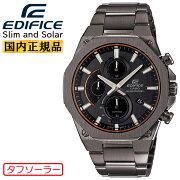 [発売日に発送できます!]カシオエディフィススリム&ソーラーグレーEFS-S570YDC-1AJFCASIOEDIFICE薄型クロノグラフアナログ灰色メンズ腕時計(EFSS570YDC1AJF)