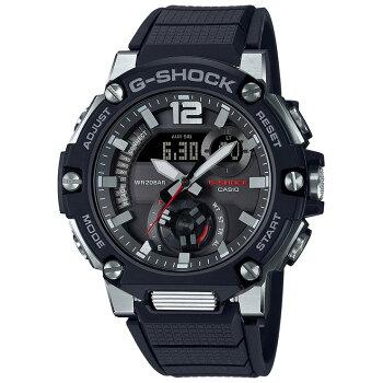 カシオGショックGスチール秒針付きモバイルリンクブラックGST-B300-1AJFCASIOG-SHOCKG-STEELBluetoothスマートフォンリンクカーボンコアガードデジタル&アナログコンビネーション黒メンズ腕時計(GSTB3001AJF)