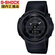 [発売日に出荷できます!]カシオGショック初代アナログモデルリバイバルデザインオールブラックAW-500BB-1EJFCASIOG-SHOCKデジタル&アナログコンビネーションラウンド黒メンズ腕時計(AW500BB1EJF)