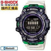 カシオGショックジースクワッドスマートフォンリンクブラックスケルトン&ホワイトGBD-100SM-1A7JFCASIOG-SHOCKG-SQUADBluetooth搭載デジタルMIP液晶黒腕時計(GBD100SM1A7JF)