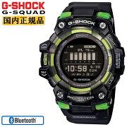 カシオGショックジースクワッドスマートフォンリンクブラックスケルトン&ブラックGBD-100SM-1JFCASIOG-SHOCKG-SQUADBluetooth搭載デジタルMIP液晶黒腕時計(GBD100SM1JF)