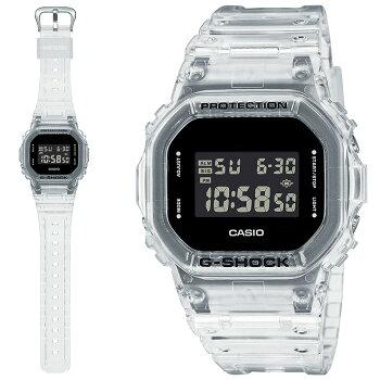 [正規品]カシオGショックオリジン5600ブラック&スケルトンDW-5600SKE-7JFCASIOG-SHOCKORIGINデジタル黒スケルトンメンズ腕時計(DW5600SKE7JF)
