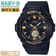 [正規品]カシオベビーG電波ソーラースターリットベゼルシリーズブラックBGA-2700SD-1AJFCASIOBABY-GStarlitBezelデジタル&アナログコンビネーションラウンド黒レディスレディース腕時計(BGA2700SD1AJF)