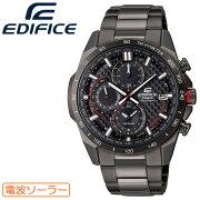 [正規品]カシオエディフィス電波ソーラーオールブラックEQW-A2000DC-1AJFCASIOEDIFICEカーボンファイバー文字板クロノグラフ黒メンズ腕時計(EQWA2000DC1AJF)