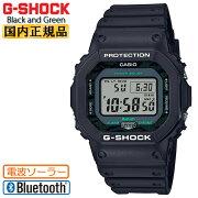 正規品カシオGショックオリジン電波ソーラースマートフォンリンクブラック&グリーンGW-B5600MG-1JFCASIOG-SHOCKORIGINBlackandGreenBluetoothデジタル黒緑メンズ腕時計(GWB5600MG1JF)