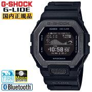 正規品カシオGショックGライドブラックGBX-100NS-1JFスマートフォンリンクスポーツラインCASIOG-SHOCKG-LIDEMIP液晶デジタルBluetooth搭載タイドグラフムーンデータ日の出/日の入り時刻表示黒メンズ腕時計(GBX100NS1JF)