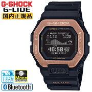 正規品カシオGショックGライドブラック&ゴールドGBX-100NS-4JFスマートフォンリンクスポーツラインCASIOG-SHOCKG-LIDEMIP液晶デジタルBluetooth搭載タイドグラフムーンデータ日の出/日の入り時刻表示黒金色メンズ腕時計(GBX100NS4JF)
