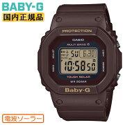 正規品カシオベビーG電波ソーラーブラウンBGD-5000UET-5JFCASIOBABY-Gデジタルスクエア茶色レディスレディース腕時計(BGD5000UET4JF)