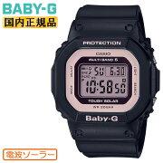 正規品カシオベビーG電波ソーラーブラック&ピンクBGD-5000U-1BJFCASIOBABY-Gデジタルスクエア黒レディスレディース腕時計(BGD5000U1BJF)