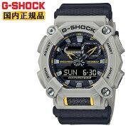 正規品カシオGショックグレー&ブラックGA-900HC-5AJFCASOG-SHOCK工業デザインモチーフヘビーデューティーデジタル&アナログコンビネーション黒灰色メンズ腕時計(GA900HC5AJF)