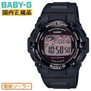 正規品カシオベビーG電波ソーラーブラックBGR-3000UCB-1JFCASIOBABY-Gデジタルラウンドレディスレディース黒腕時計(BGR3000UCB1JF)