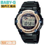 正規品カシオベビーG電波ソーラーブラック&ゴールドBGR-3003U-1JFCASIOBABY-Gデジタルラウンドレディスレディース黒金色腕時計(BGR3003U1JF)【あす楽】