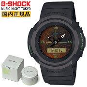 正規品カシオGショックMUSICNIGHTTOKYOダークグレーAW-500MNT-1AJRCASIOG-SHOCKデジタル&アナログコンビネーションYOSHIROTTENデザインラウンド灰色メンズ腕時計(AW500MNT1AJR)
