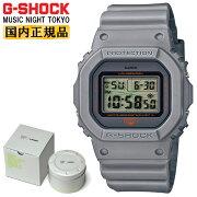 正規品カシオGショックオリジンMUSICNIGHTTOKYOライトグレーDW-5600MNT-8JRCASIOG-SHOCKORIGINYOSHIROTTENデザインデジタルスクエア灰色メンズ腕時計(DW5600MNT8JR)