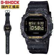 正規品カシオGショックオリジンブラック&イエローDW-5600WS-1JFCASIOG-SHOCKORIGINオーシャンウェーブモチーフ混色樹脂成形デジタルスクエア黒黄色メンズ腕時計(DW5600WS1JF)