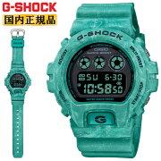 正規品カシオGショックターコイズブルー&ブラックDW-6900WS-2JFCASIOG-SHOCKオーシャンウェーブ混色樹脂成形デジタル黒青メンズ腕時計(DW6900WS2JF)
