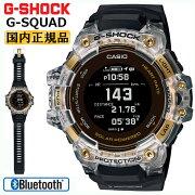 正規品カシオGショックGスクワッド心拍計+GPS機能搭載スケルトン&ゴールド&ブラックGBD-H1000-1A9JRCASIOG-SHOCKG-SQUADBluetooth搭載スマートフォンリンク黒金色デジタルMIP液晶メンズ腕時計(GBDH10001A9JR)【CA-M2】