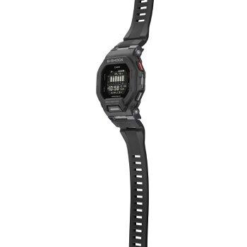 正規品カシオGショックジースクワッドスマートフォンリンクブラックGBD-200-1JFCASIOG-SHOCKG-SQUADBluetooth搭載スクエアデジタルMIP液晶黒腕時計(GBD2001JF)【CA-M2】
