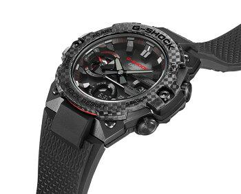 正規品指定ショップ限定モデルカシオGショックGスチールモバイルリンクカーボンベゼルブラックGST-B400X-1A4JFCASIOG-SHOCKG-STEELBluetoothデジタル&アナログコンビネーション黒メンズ腕時計(GSTB400X1A4JF)