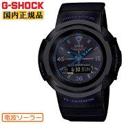 正規品カシオG-SHOCK電波ソーラー初代アナログモデル復刻デザインブラック&ブルーAWG-M520VB-1AJFCASIOG-SHOCKデジタル&アナログコンビネーション黒青メンズ腕時計(AWGM520VB1AJF)