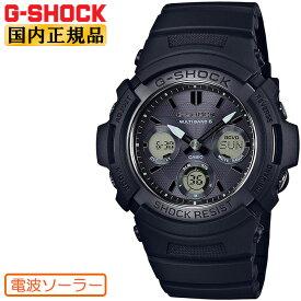 G-SHOCK 電波 ソーラー AWG-M100SBB-1AJF CASIO カシオ Gショック 電波時計 デジタル×アナログ コンビネーション ブラック 黒 メンズ 腕時計 【正規品/送料無料】【レビューで3年保証】【あす楽】【在庫あり】