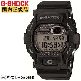 G-SHOCK 腕時計 Gショック カシオ GD-350-1JF CASIO バイブレーション機能 ビックフェイス ブラック メンズ 腕時計 【あす楽】