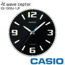 【電波 掛け時計】 カシオ IQ-1009J-1JF CASIO 電波掛時計 クロック スタンダード ネオブライト 【在庫あり】 【02P03…
