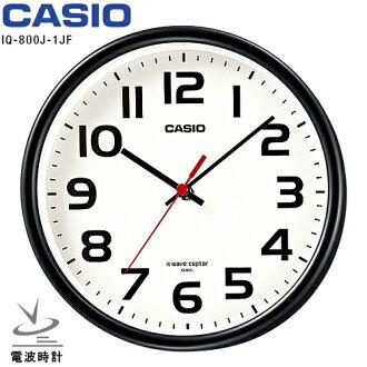 Casio IQ-800J-1JF CASIO radio clock clock standard black