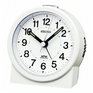 【電波時計 アナログ ライト】 KR325W セイコークロック SEIKO 電波目覚まし時計 電子音アラーム 見やすい目ざまし時計 ライト 蓄光 【30%OFF】【お取り寄せ】【02P03Dec16】 【RCP】