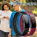 スマートウォッチ フィットビット Fitbit Inspire FB412 活動量計 腕時計 男女兼用 ウエアラブル 歩数計 消費カロリー ダイエット 運動…
