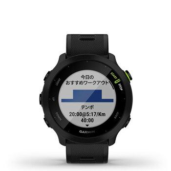 GPSランニングウォッチGARMINガーミンForeAthlete55