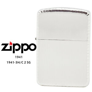 【Zippo ジッポー ライター】 Zippo ジッポー ZIPPO 1941-3H/C 2 SS シルバー 10ミクロン サテーナ リューター 手彫り彫刻 オイル ライター 【お取り寄せ】【RCP】