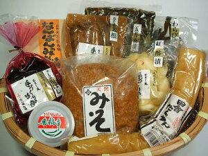 いげたやからの贈り物お味噌とお漬物9品詰め合わせセット 【送料込】【四国・九州・沖縄・離島】へは別途送料必要】