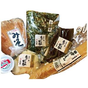 いげたやからの贈り物お味噌とお漬物6品詰め合わせセット【送料込】【四国・九州・沖縄・離島は別途送料必要】