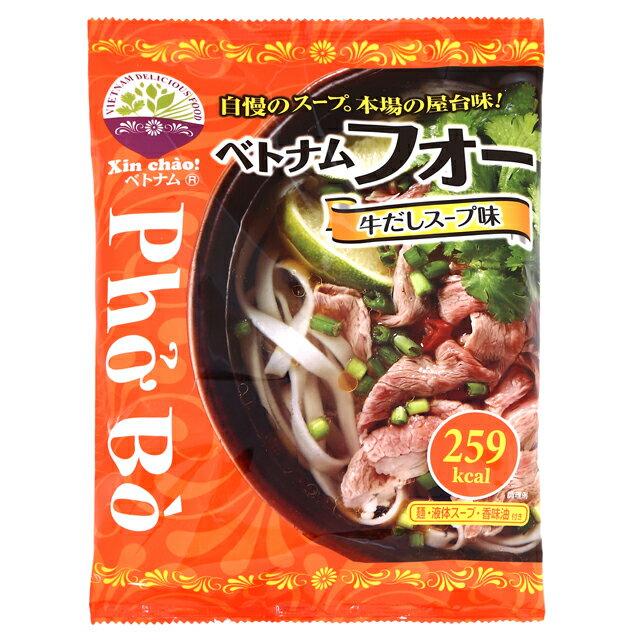 Xin chao!ベトナム ベトナムフォー牛だしスープ 12食セット