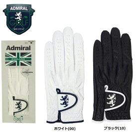 【メール便配送(4枚まで)】 アドミラル ゴルフ 合皮 メンズ ゴルフグローブ ADMG602 左手用 ADMIRAL GOLF