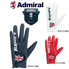 【メール便配送(4枚まで)】 Admiral Golf アドミラル ゴルフ 合皮 メンズ ゴルフグローブ ADMG901 左手用