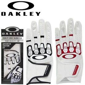 オークリー ゴルフグローブ Oakley Golf Glove 5.0 FOS900230 左手用 メンズ 手袋 【メール便配送(4枚まで)】