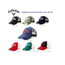 キャロウェイ ゴルフ メンズ アメリカン メッシュ キャップ 18JM 247-8984603 Callaway American Mesh Cap  18JM 2018 62d64540be95