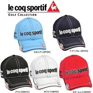 ルコック ゴルフ メンズ キャップ クリップマーカー付き QG0264 Le coq sportif GOLF 帽子