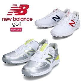 レディース ニューバランス ゴルフシューズ ソフトスパイク WGB996 Boa New Balance Golf 日本正規品 2021年モデル